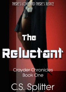 Book cover Reluctant Crayder Chronicles Splitter
