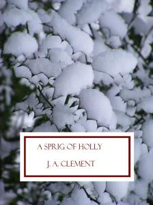 Sprig of holly bodge cover